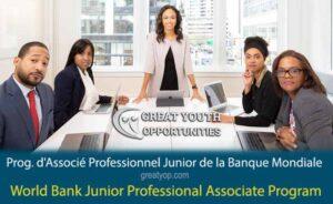 World Bank Junior Professional Associate Program