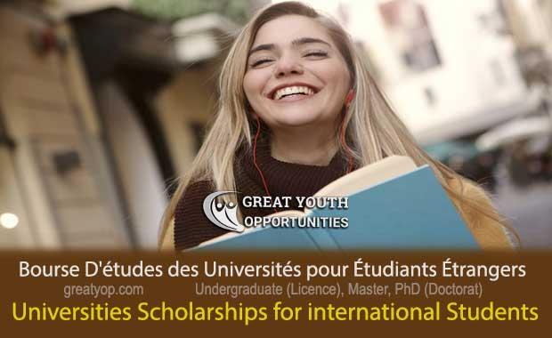 Universities Scholarships for international Students